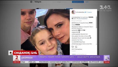 6-летняя дочка Бекхэмов планирует карьеру визажиста