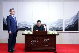 Рейтинг доверия к Киму Чен Ыну в Южной Корее взлетел до 80%