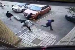 """Поліція розшукує зловмисників, які напали на """"кіборга"""" у Києві"""