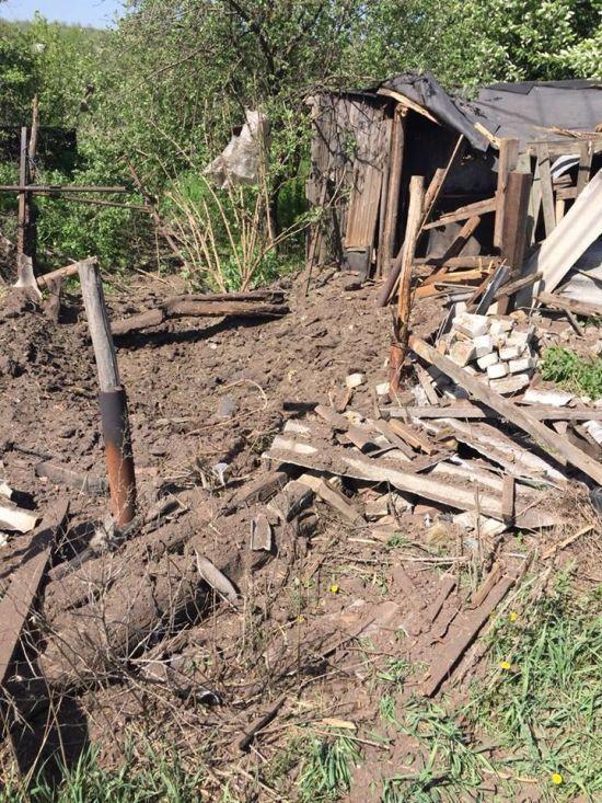 Бойовики обстріляли Зайцеве із забороненої артилерії - штаб ООС