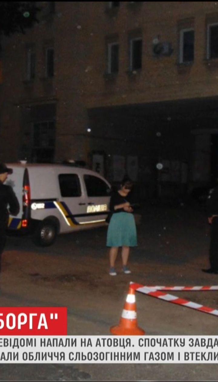"""Столична поліція просить допомогти в пошуку нападників на """"кіборга"""""""