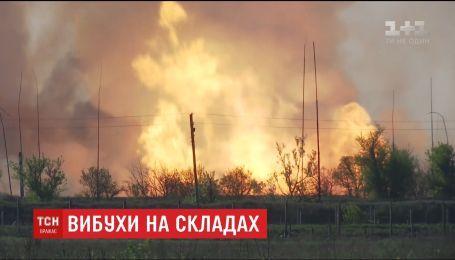 Міноборони повідомляє, що пожежу поблизу військових складів у Балаклії на Харківщині локалізували