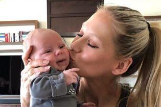 Курникова впервые показала фото себя беременной