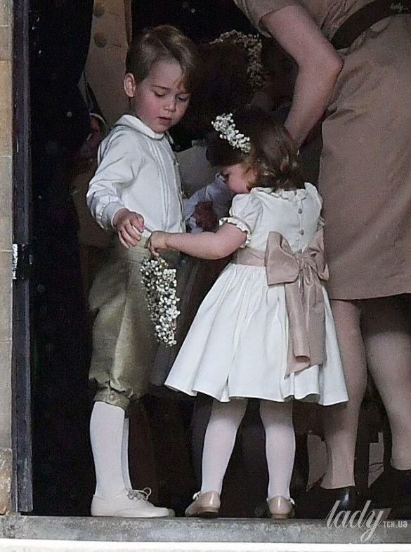 принц Джордж и принцесса Шарлотта