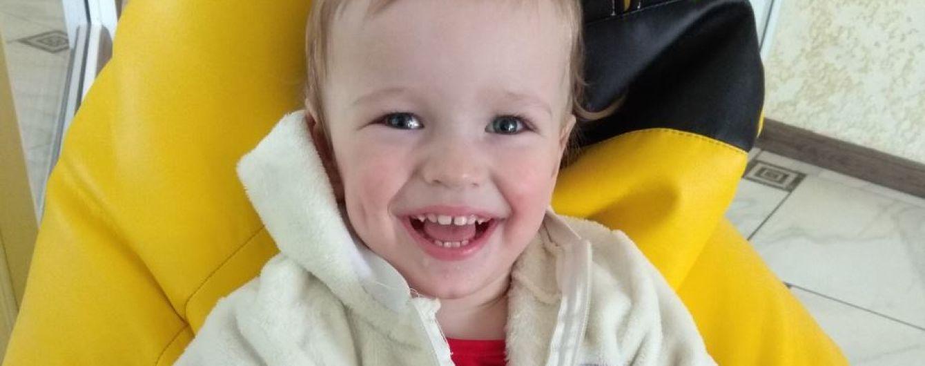 2-річний Ростик потребує посиленої реабілітації