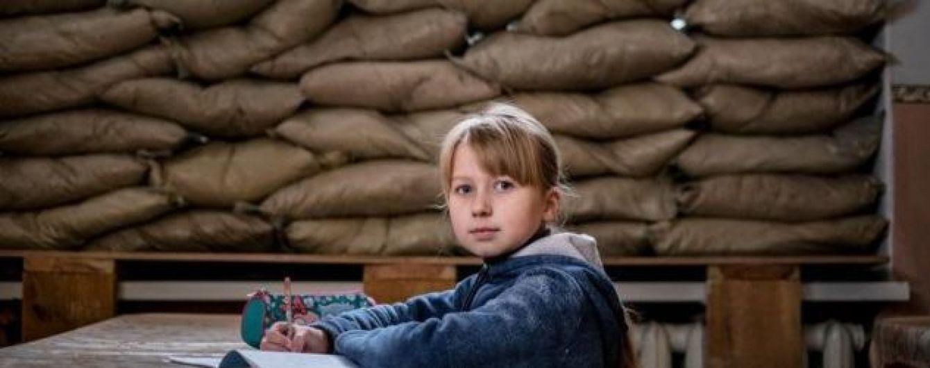 ЮНІСЕФ озвучив, скільки дітей навчаються в зоні бойових дій на Донбасі