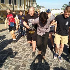 Суд зобов'язав СБУ відкрити кримінальне провадження через затримання націоналістами бойовика Лусваргі