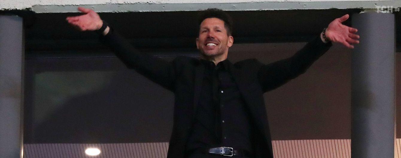 """Тренер """"Атлетико"""" дисквалифицирован на финал Лиги Европы за оскорбление арбитра"""