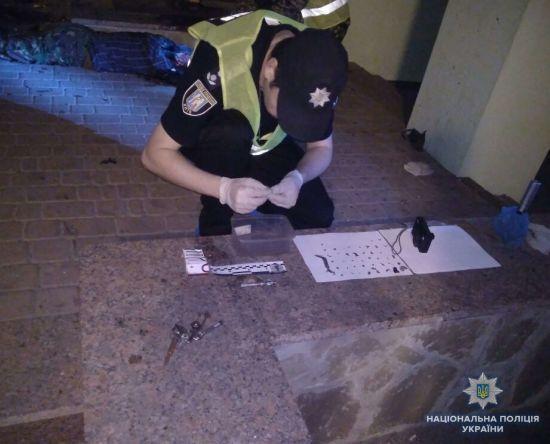 На місці вибуху гранати у Києві знайшли посвідчення учасника бойових дій