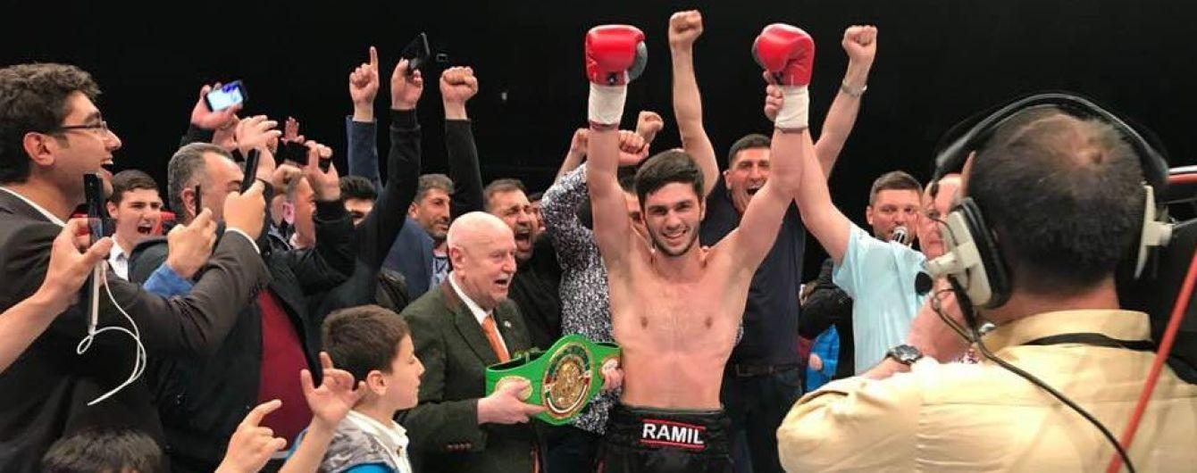 Украинский боксер нокаутировал опытного соперника уже во втором раунде