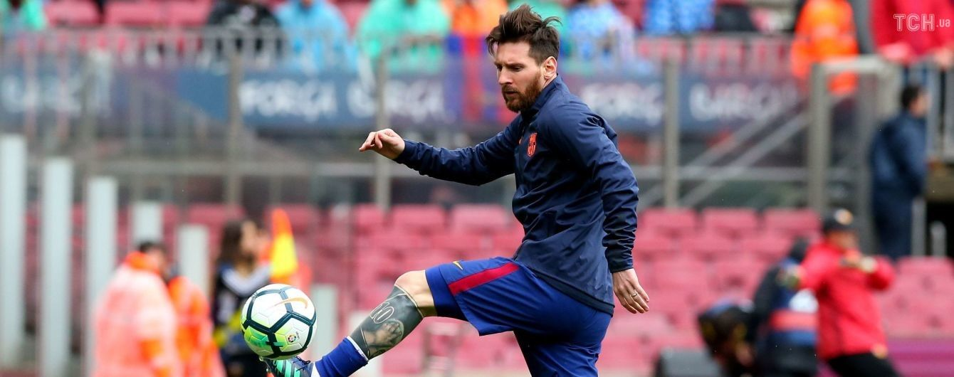 """Берегись, """"Реал"""": на тренировке перед Эль-Класико Месси забил изысканный мяч через себя"""