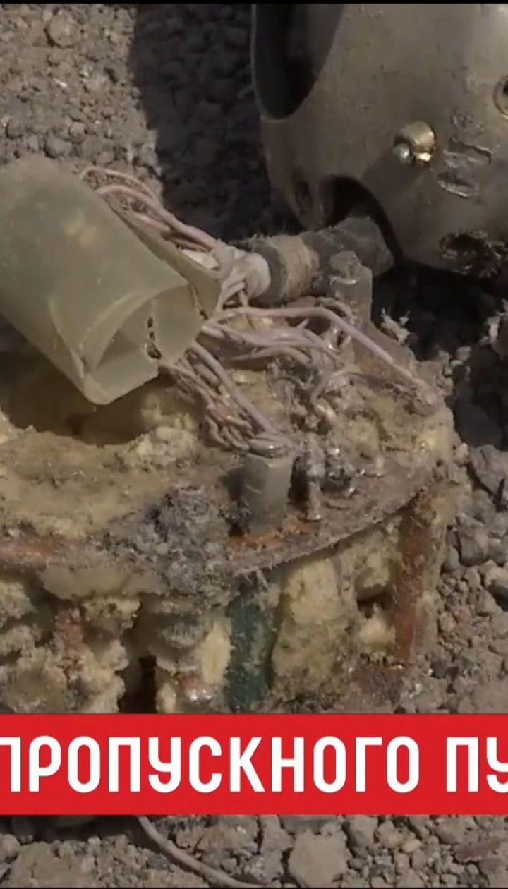 """Боевики ракетами обстреляли пропускной пункт """"Гнутово"""""""