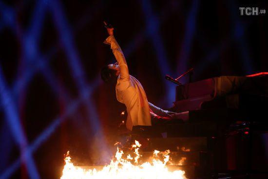 """Друга репетиція учасників """"Євробачення-2018"""" у фото: MELOVIN у вогні, росіянка на горі та хардроковий угорець"""
