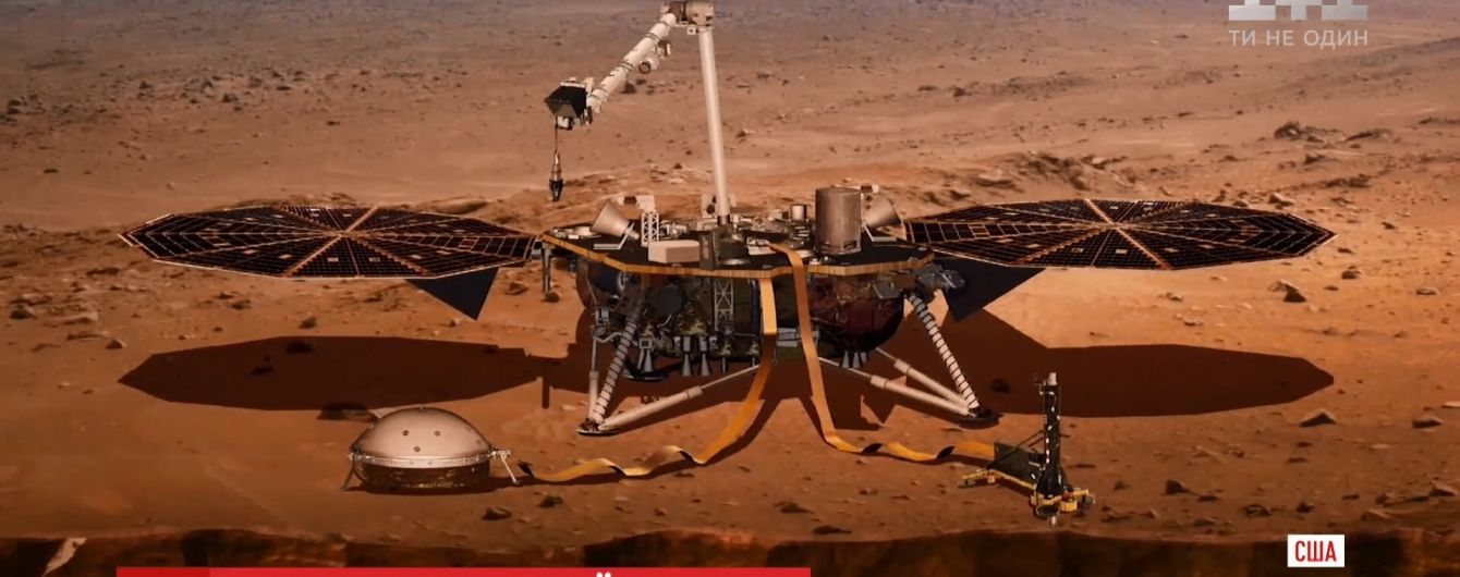 NASA отправила на Марс новый марсоход