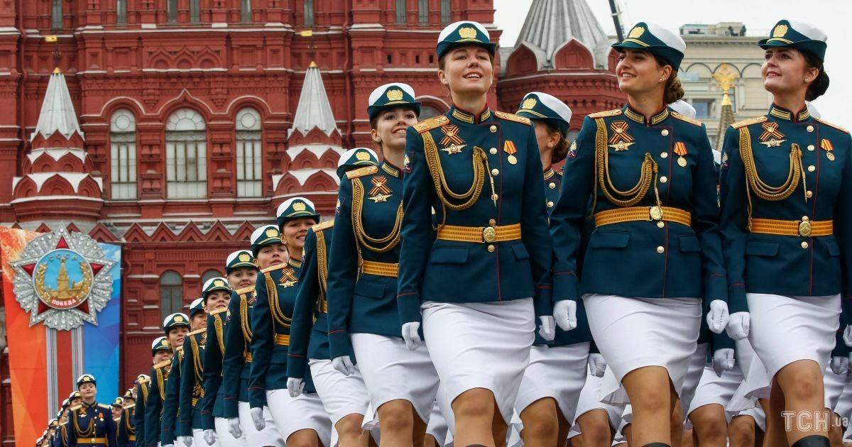 """Советская символика и """"Терминаторы"""". Как прошла репетиция военного парада в Москве"""