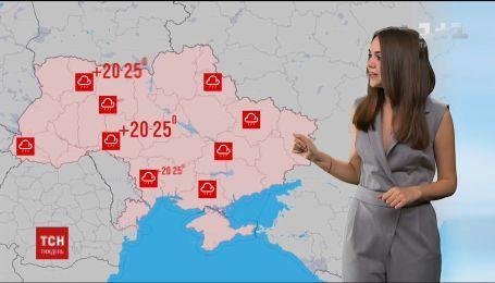 На этой неделе в Украине температура воздуха поднялась выше, чем в северных странах Африки