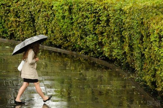 Понеділок буде з грозовими дощами. Прогноз погоди на 7 травня