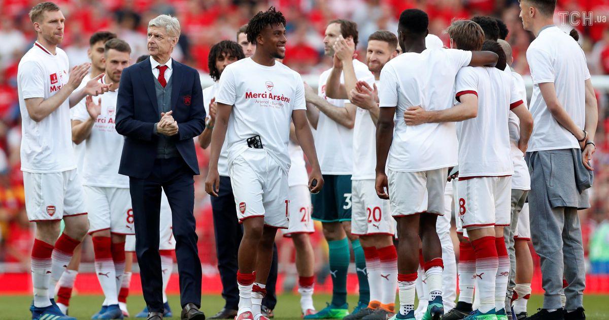 Арсен Венгер провів церемонію прощання з клубом