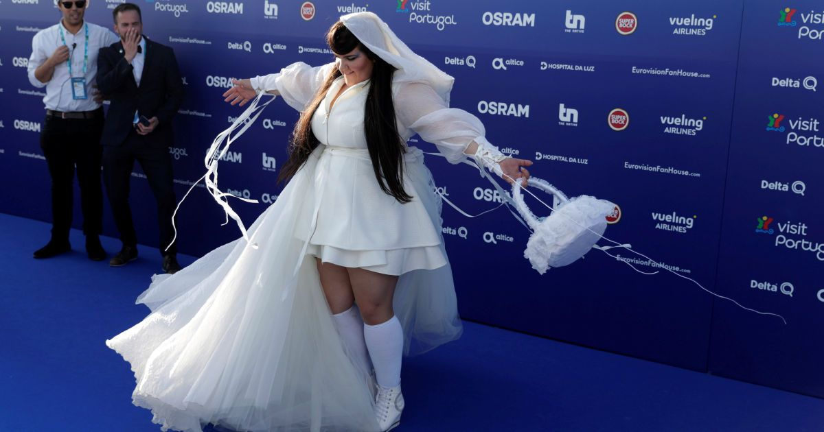 Представительница из Израиля @ eurovision.tv