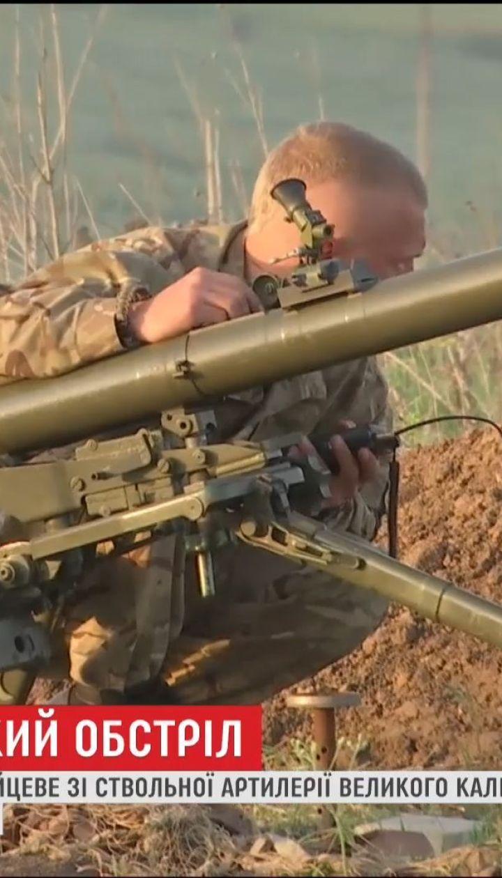 Боевики из ствольной артиллерии большого калибра обстреляли жилые дома в Зайцево