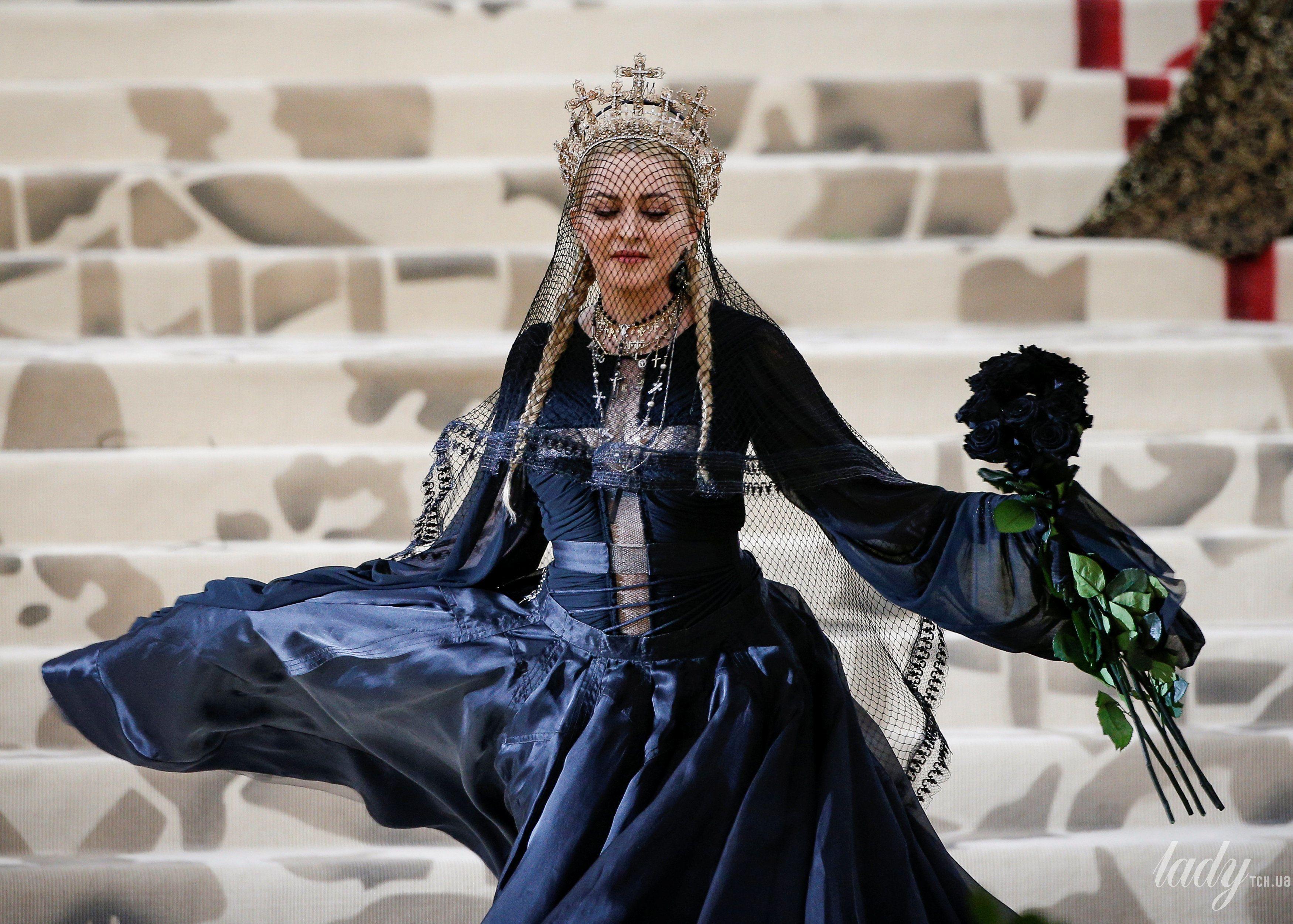 Мадонна на  Met Gala-2018_8