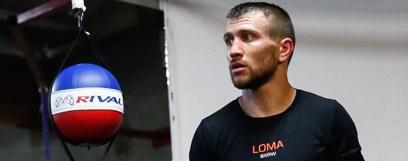 Спаринг-партнер Ломаченка: Василь насправді з Матриці