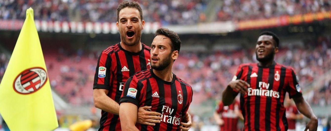 """""""Милан"""" допустили к Лиге Европы, несмотря на финансовый фэйр-плей"""