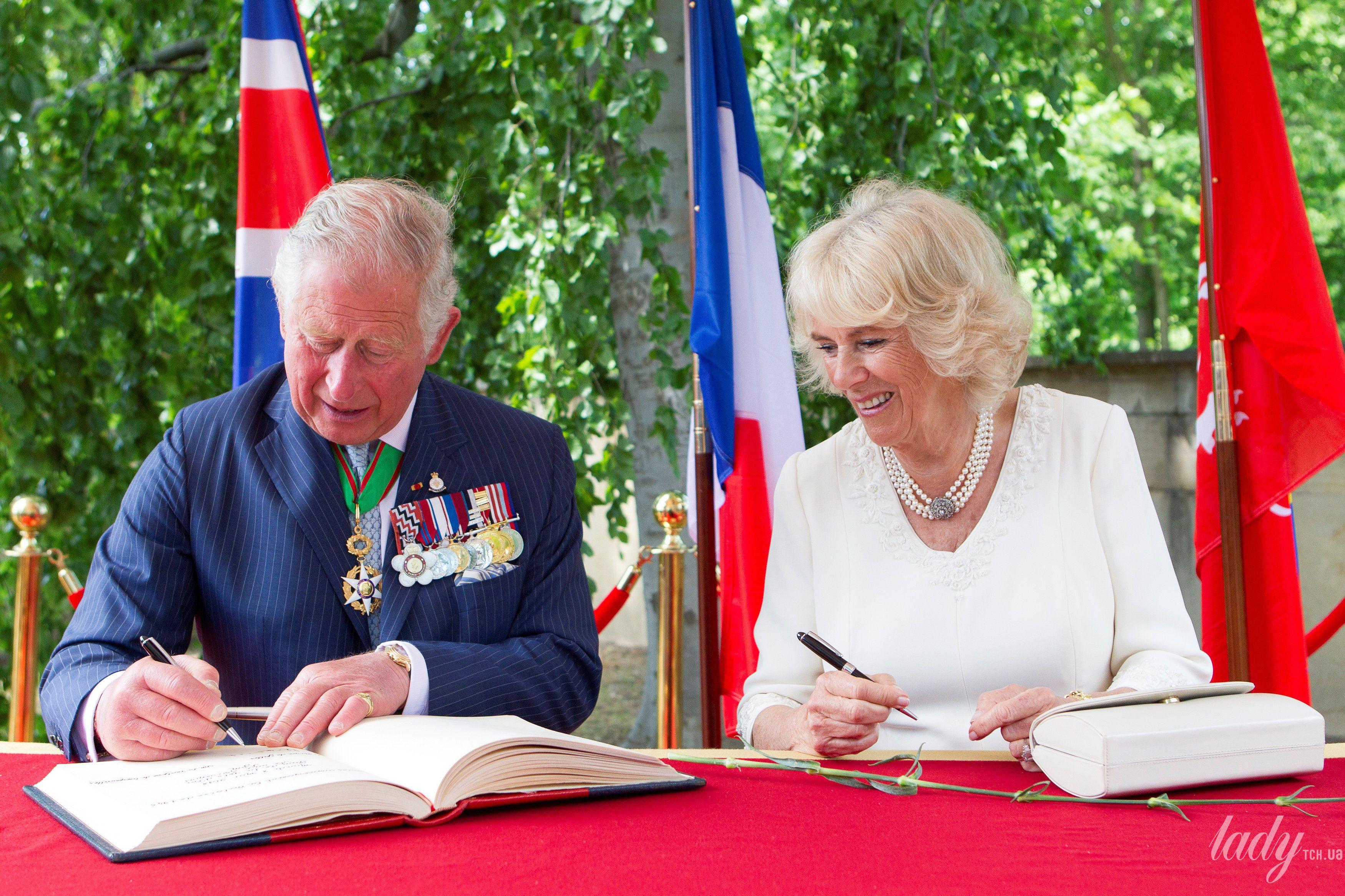 Герцогиня Корнуольская Камилла и принц Чарльз_2