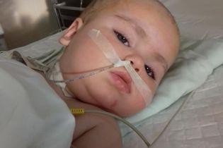 Маленька Наталочка з Ужгорода потребує негайної допомоги