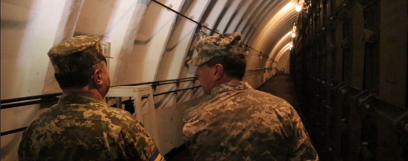 В Украине построят 15 железобетонных хранилищ для боеприпасов и ракет