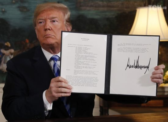 Жаль і стурбованість: як світ відреагував на рішення США вийти з ядерної угоди з Іраном