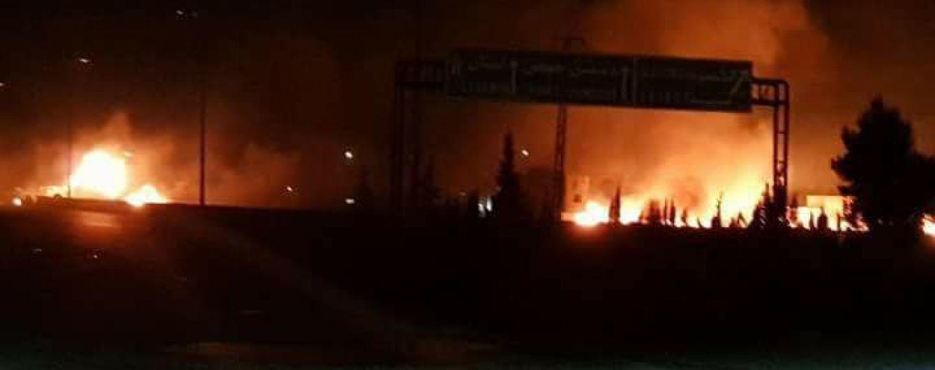 Армия Израиля обвинила Иран в массированном ракетном обстреле Голанских высот