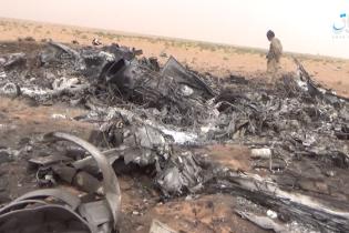 """Террористы """"Исламского государства"""" показали кадры разбитого в Сирии российского военного вертолета"""