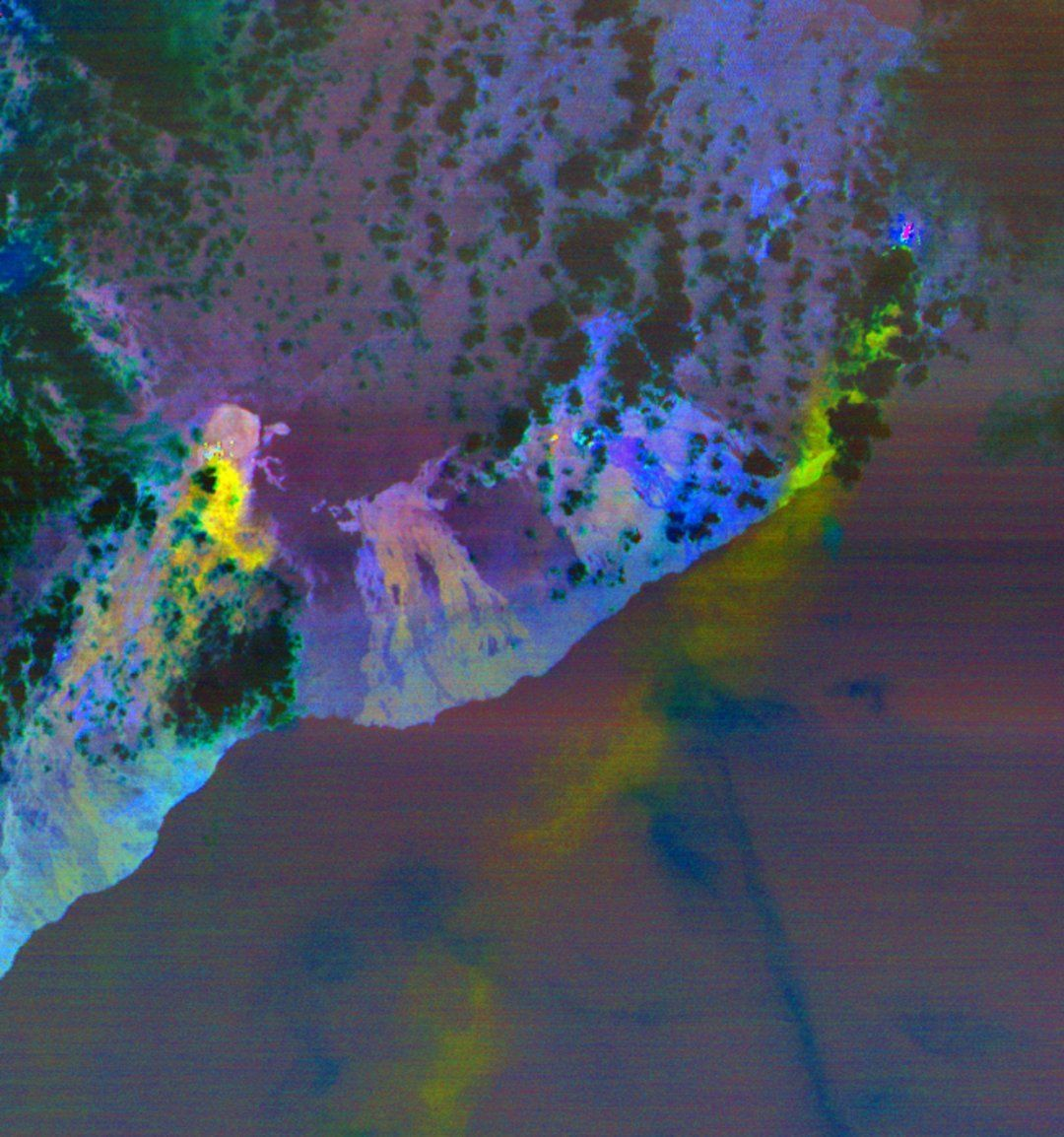 NASA оприлюднило з космосу знімки виверження вулкана Кілауеа на Гаваях_2
