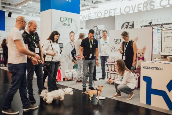 На міжнародній виставці Interzoo бренд Optimeal презентував лінійку харчування для собак Optimeal Privilege