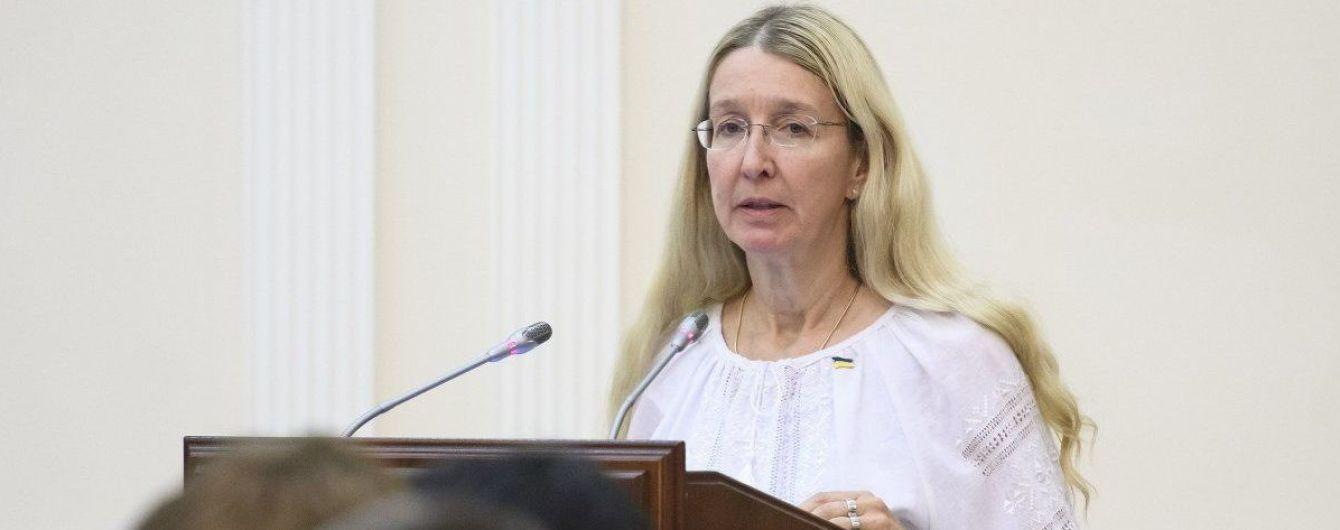 Супрун рассказала, есть ли связь между инцидентами на школьных линейках в Черкассах и Новомосковске