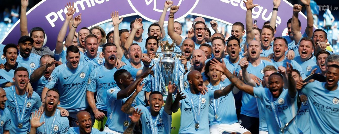 """""""Манчестер Сіті"""" - чемпіон, """"Арсенал"""" та """"Челсі у Лізі Європи: підсумкова таблиця чемпіонату Англії"""