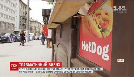 У львівському кіоску стався вибух, одна людина постраждала