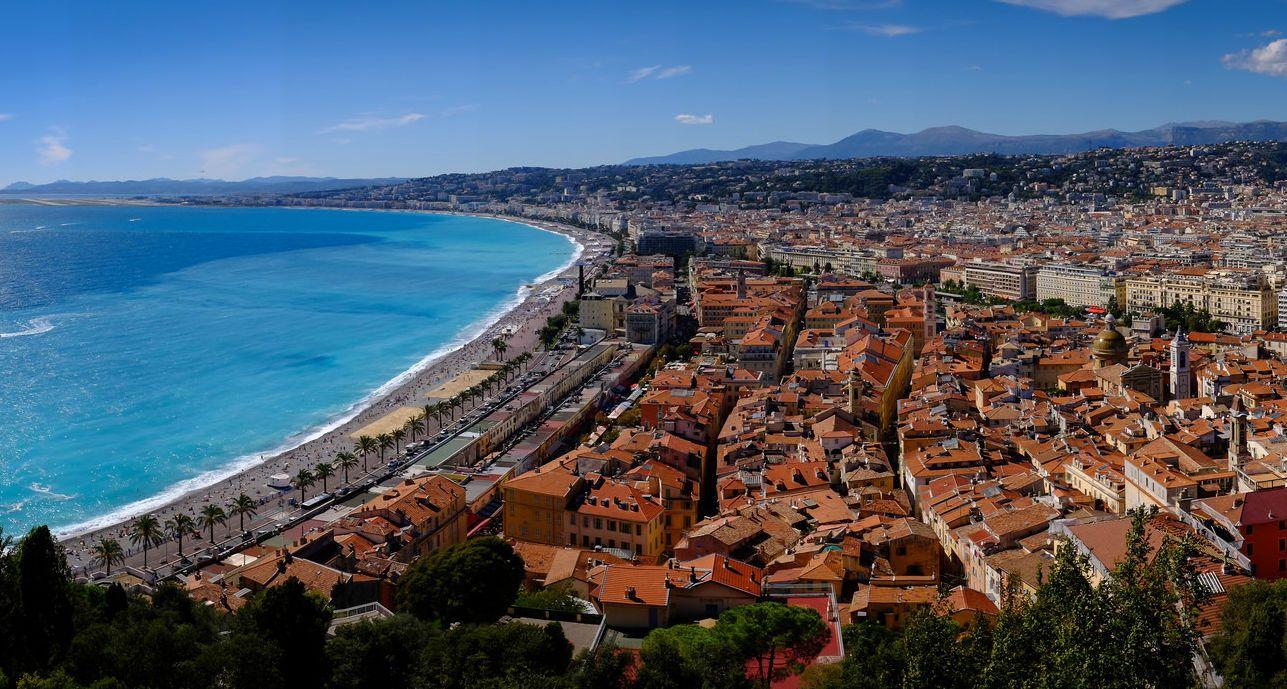 Ніцца, Франція, Середземне море