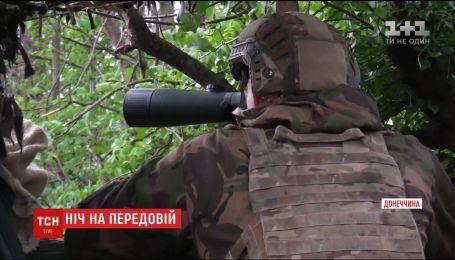 На Приазов'ї бойовики вночі обстрілюють українські позиції з мінометів та стрілецької зброї