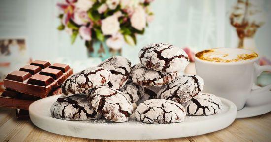 Шоколадне мармурове печиво