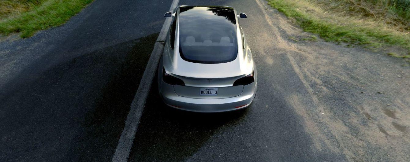 Tesla збирає з клієнтів другу частину передплати за Model 3