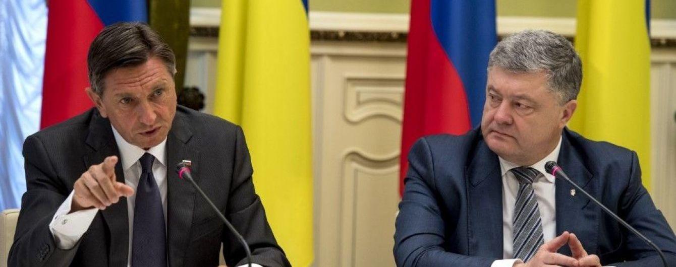 Президент Словении поддержал продление действия санкций ЕС против России