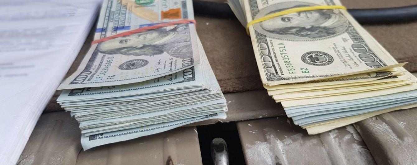 На Донбассе задержали автомобиль с контрабандными более 76 тысячами долларов