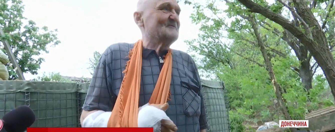 Біля Горлівки снайпер бойовиків підстрелив цивільного