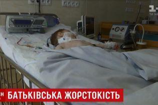 """""""Я напився"""": на Рівненщині батько 10 разів ударив маленького сина ножем, дитина в реанімації"""