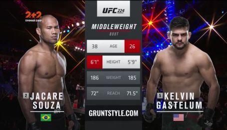 UFC 224. Келвин Гастелум - Роналдо Соуза. Видео боя