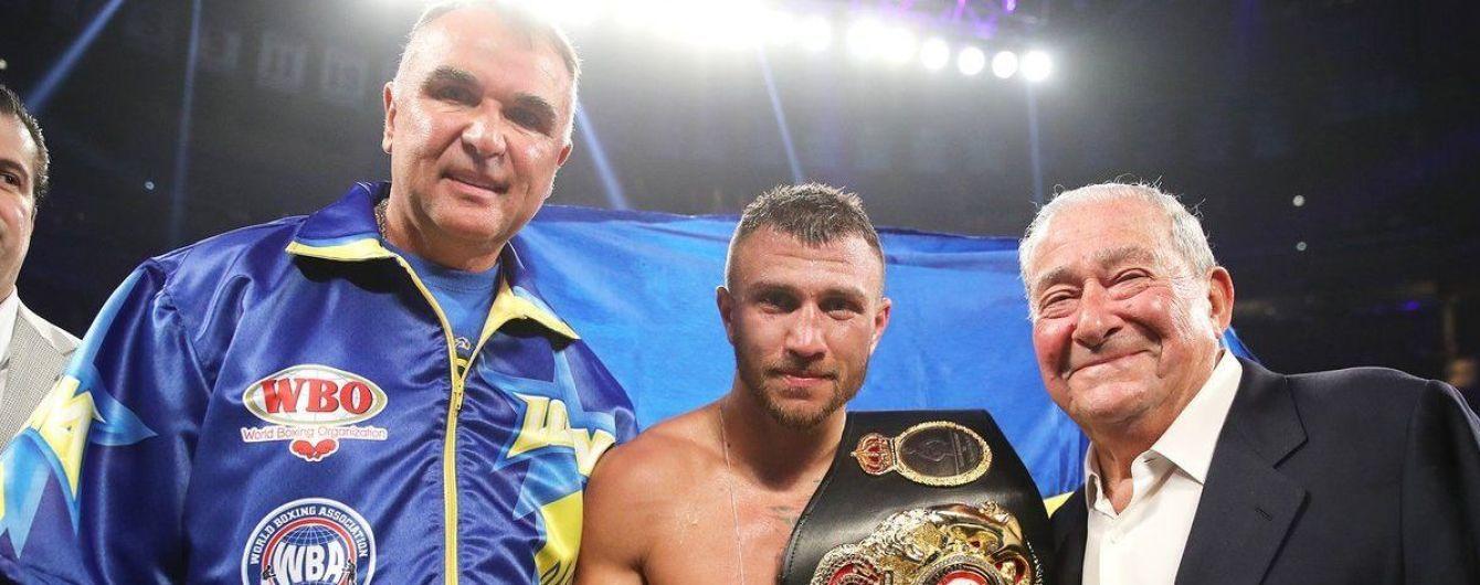 Ломаченко вышел на второе место среди лучших боксеров мира