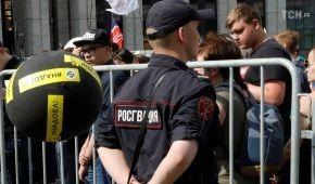 У Москві на узгодженому мітингу за вільний інтернет затримали десятки людей
