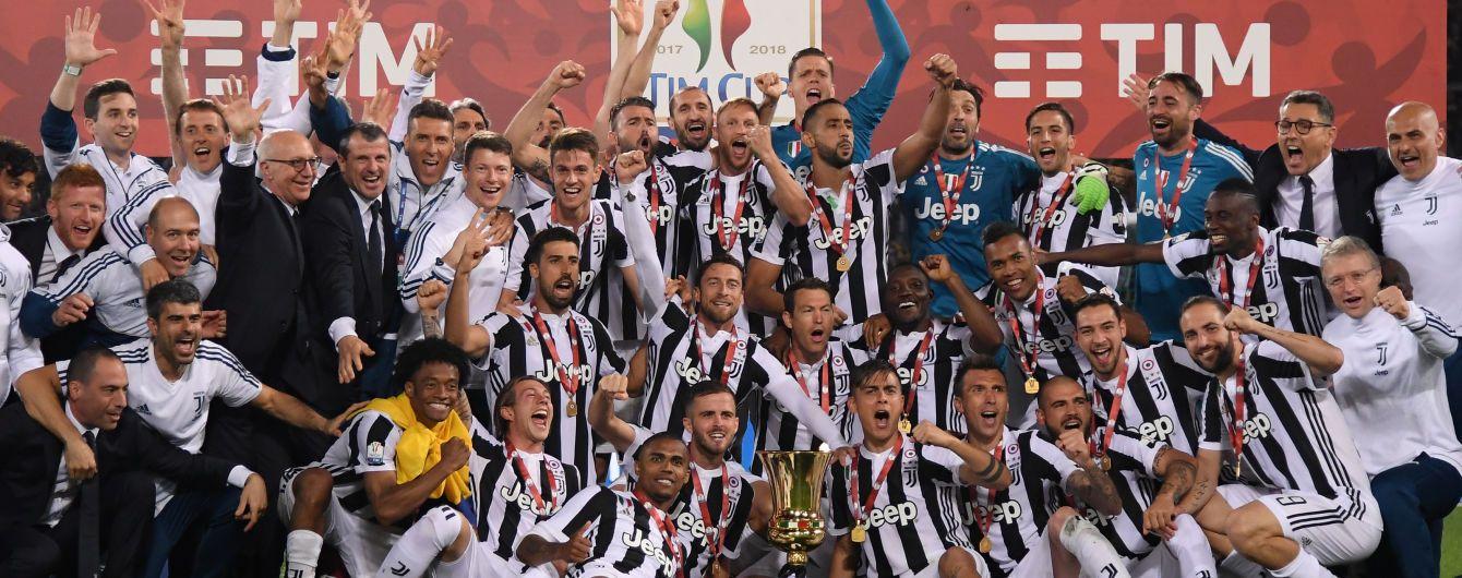 """""""Ювентус"""" усьоме поспіль став чемпіоном Італії"""